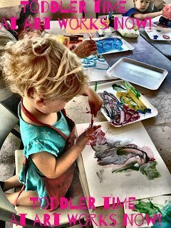 Toddler Time at Art Works Now
