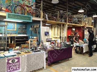 Local artisans goods for sale at Community Forklift