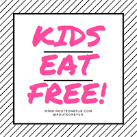 Kids Eat Free Along Route 1 Corridor