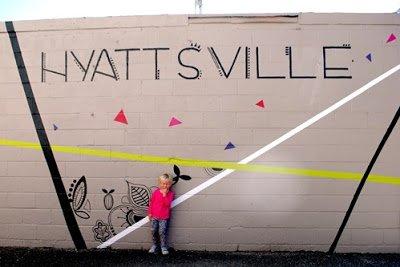 Mural in Hyattsville, Maryalnd