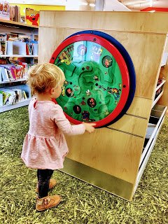 Laurel Library Full of Gadgets for Preschoolers