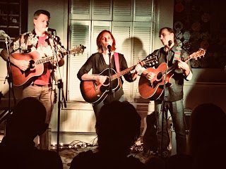 Paint Branch Creek performs at Old Parish House in College Park