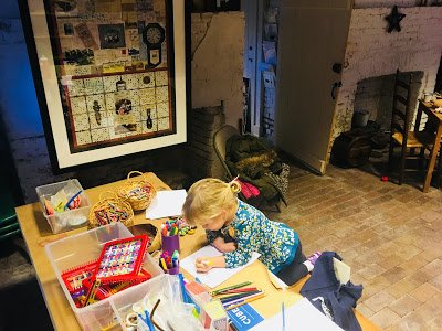 Crafts and activities at Laurel Historical Society