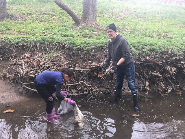 University Park Stream Cleanup