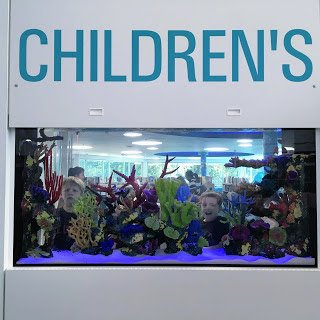 Discovery Reef at the New Carrollton Library