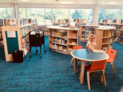 Inside the Kids Room at the New Carrollton Library