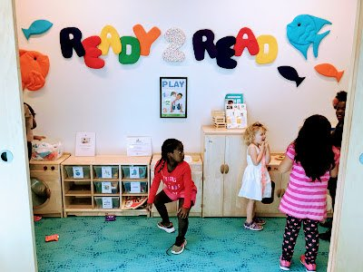 Ready to Read Room at the New Carrollton Library
