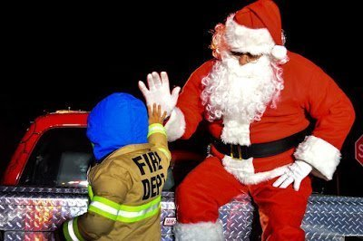 Hyattsville Volunteer Fire Department Santa