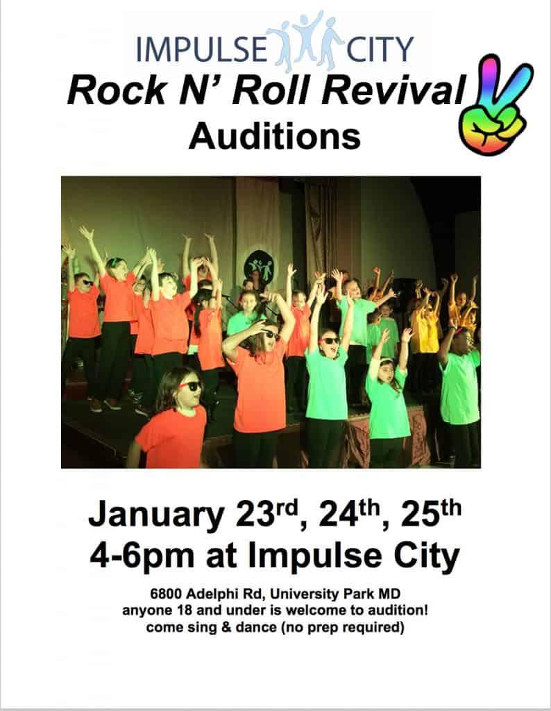 Flyer for Impulse City