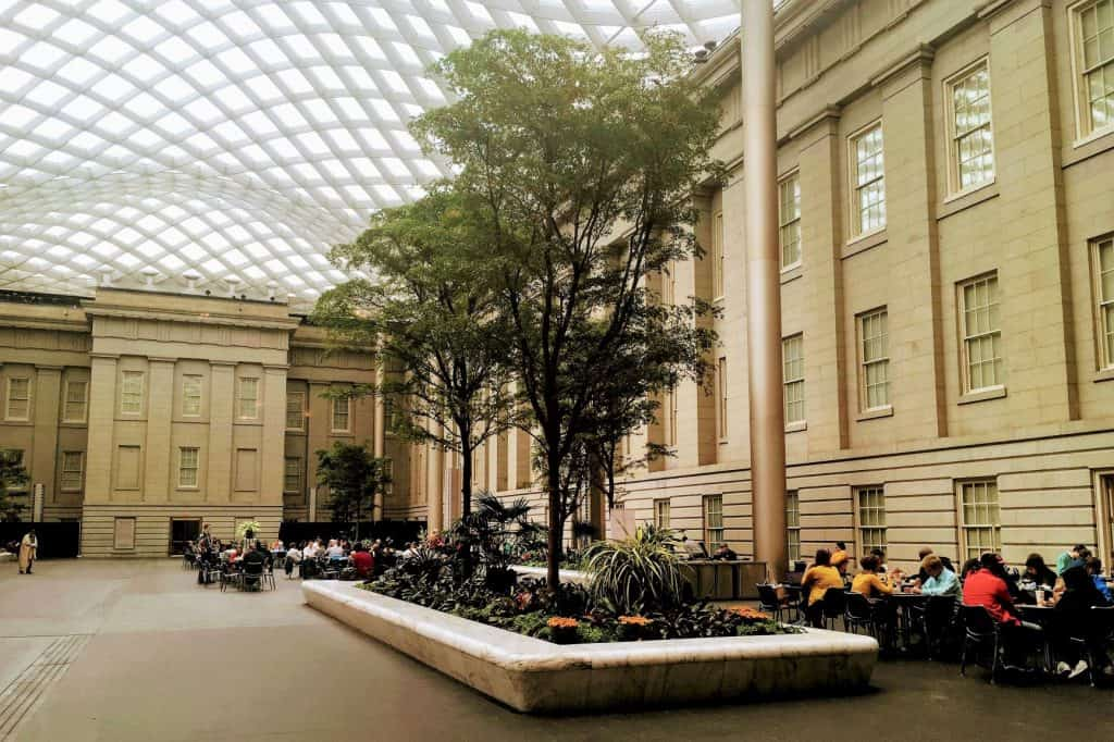 Kogod Courtyard National Portrait Gallery