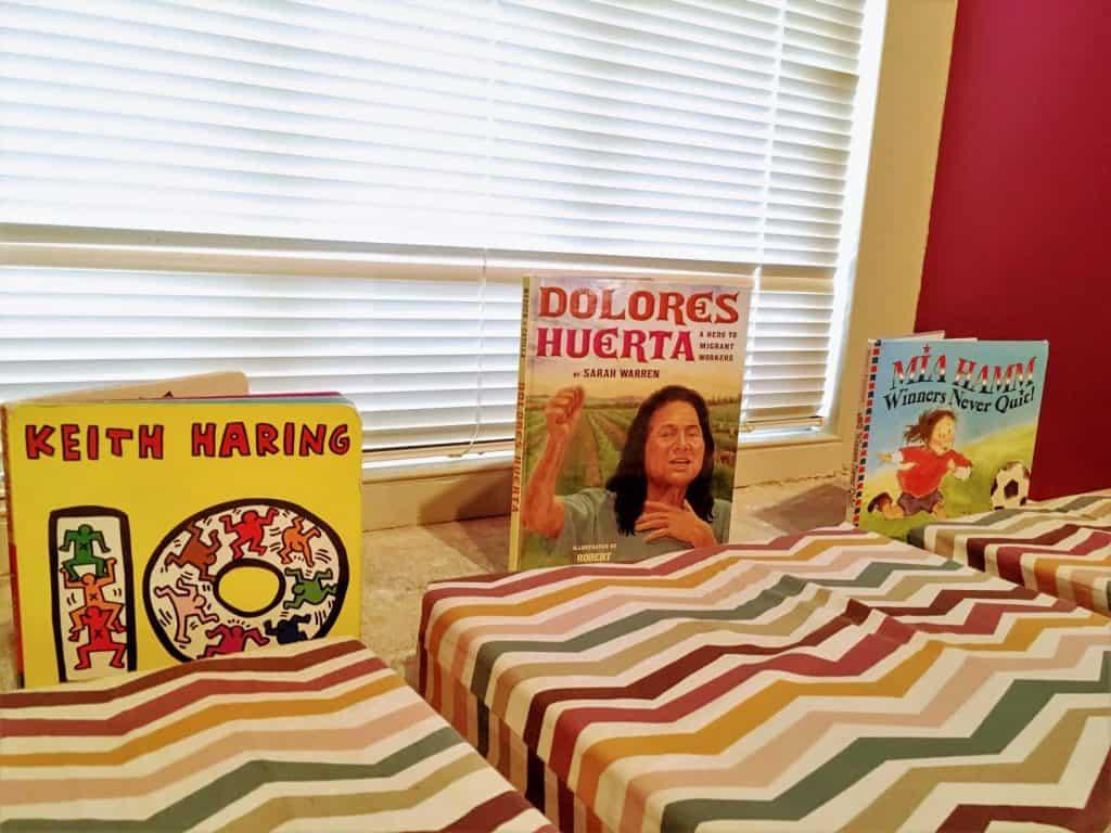 National Portrait Gallery, Kids Explore Room reading nook