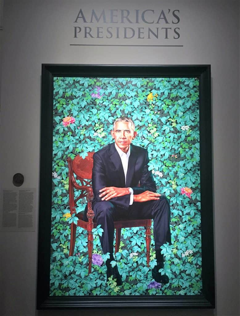 National Portrait Gallery President Obama Portrait
