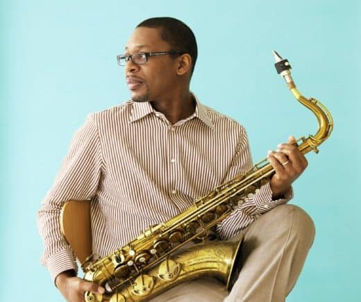 Ravi Coltrane playing at MilkBoy ArtHouse