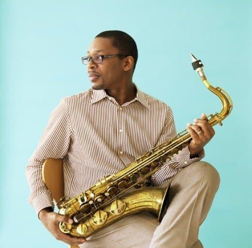 Ravi Coltrane playing at MilkBoy ArtHouse