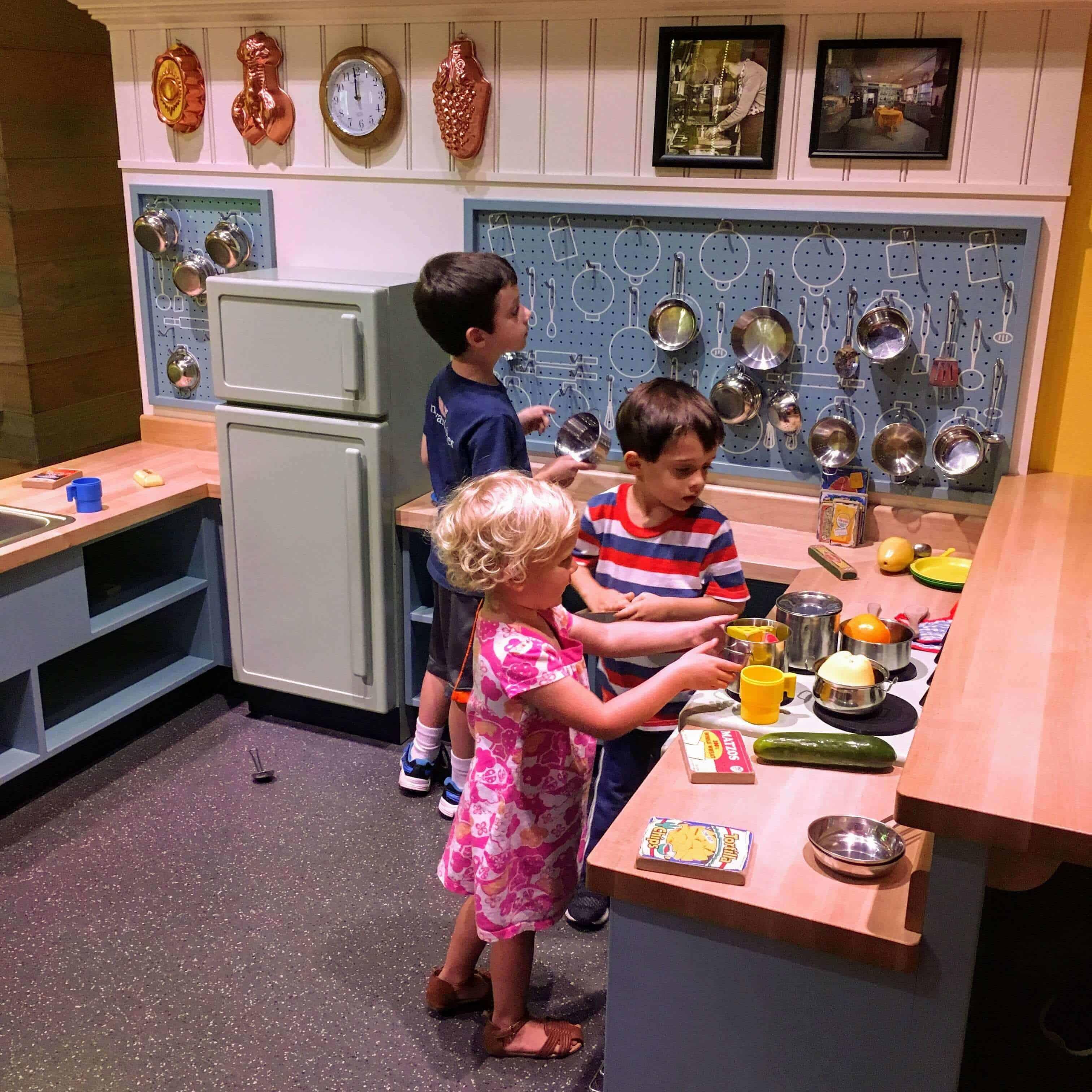 Kids Playing at Wegmans Wonderplace