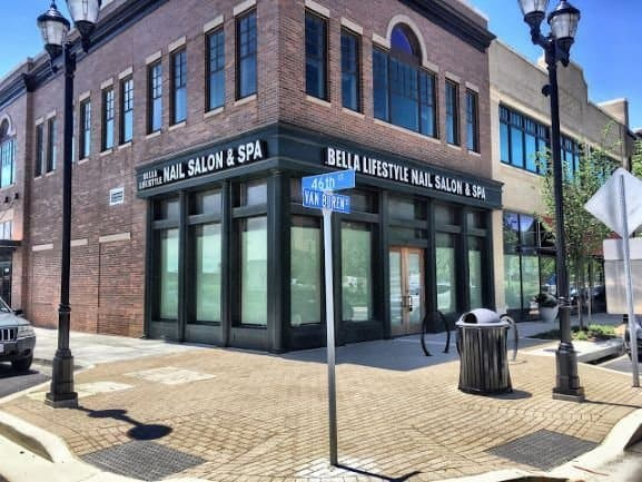 Bella Lifestyle Nail Salon and Spa at Riverdale Park Station.