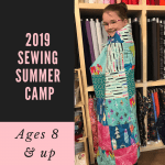 Three Little Birds Sewing Co Summer Camp
