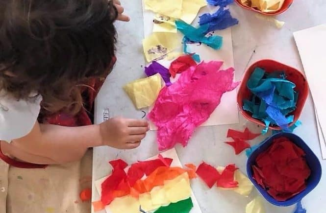 Toddler Time Art Time at Hyattsville's Art Works Now