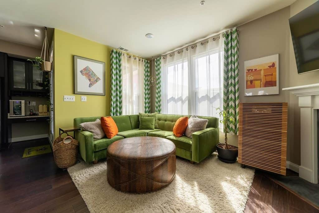 Sunny Family Room at at 3310 Tribute Court, Unit F, Editors Park, Hyattsville