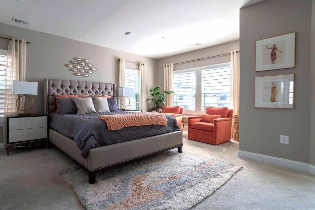 Luxurious Master Bedroom Suite at 3310 Tribute Court, Unit F, Editors Park, Hyattsville