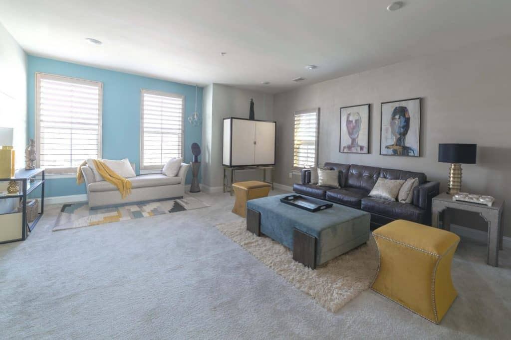 Sunny Living Room at 3310 Tribute Court, Unit F, Editors Park, Hyattsville