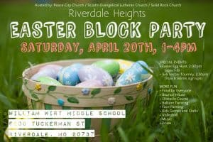Riverdale Heights Easter Block Party