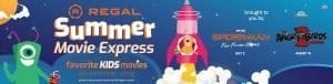 Regal Summer Movie Express, Kids movies for only $1!