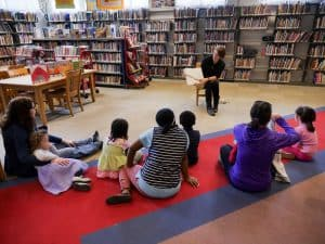 Circle Time at Takoma Park Maryland Library