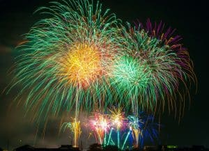 Where to Watch fireworks along the Route 1 Corridor in Maryland
