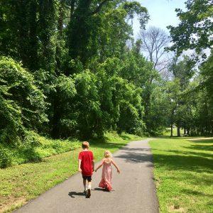 A walk along the Northwest Branch Trail