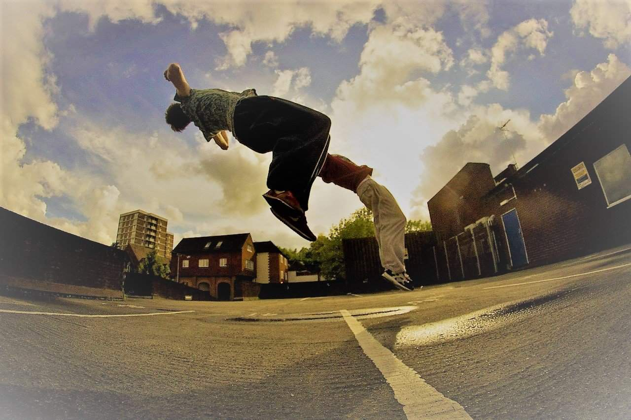 Parkour in the Park this weekend