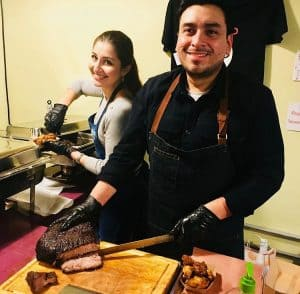 Debby & Fernando, owners of 250 Texas BBQ