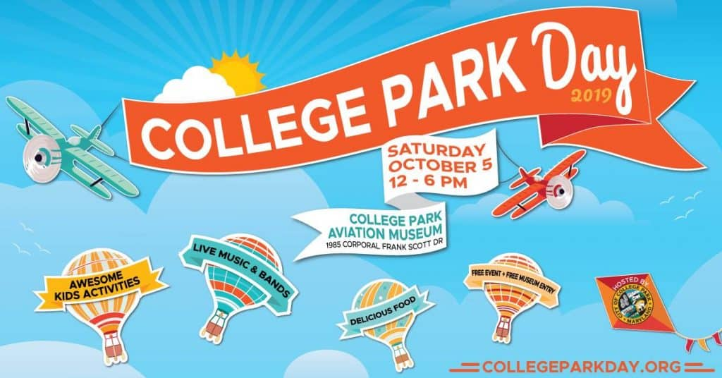 College Park Day is Saturday, October 5th, 2019!