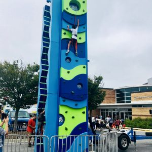 Climb as high as you can at College Park Day!
