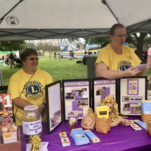 College Park Day Exhibitors including the College Park Lions Club