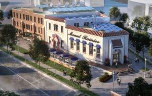 Menkiti Group Singer Building, home of Pennyroyal Station restaurant (opening soon!)