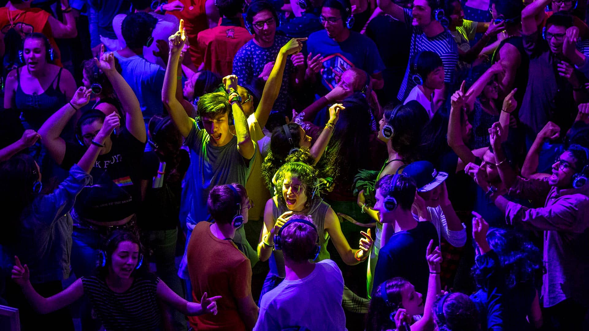 Check out a Silent Disco at the NextNOW Fest!