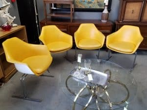 mid-century furniture at Peg Leg Vintage