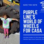 Purple Line's World of Wheels for CASA