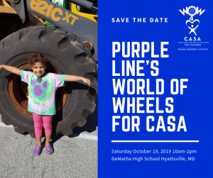 Purple Line's World of Wheels for CASA
