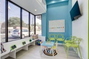 Waiting Room at Children's Choice Pediatric Dentistry