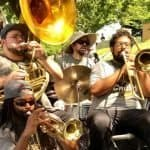 Crush Funk Brass will be at College Park Day!