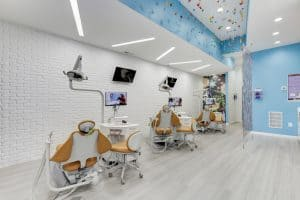 Children's Choice Pediatric Dentistry Exam Area