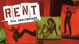 Rock musical RENT is coming to DC's National Theatre!
