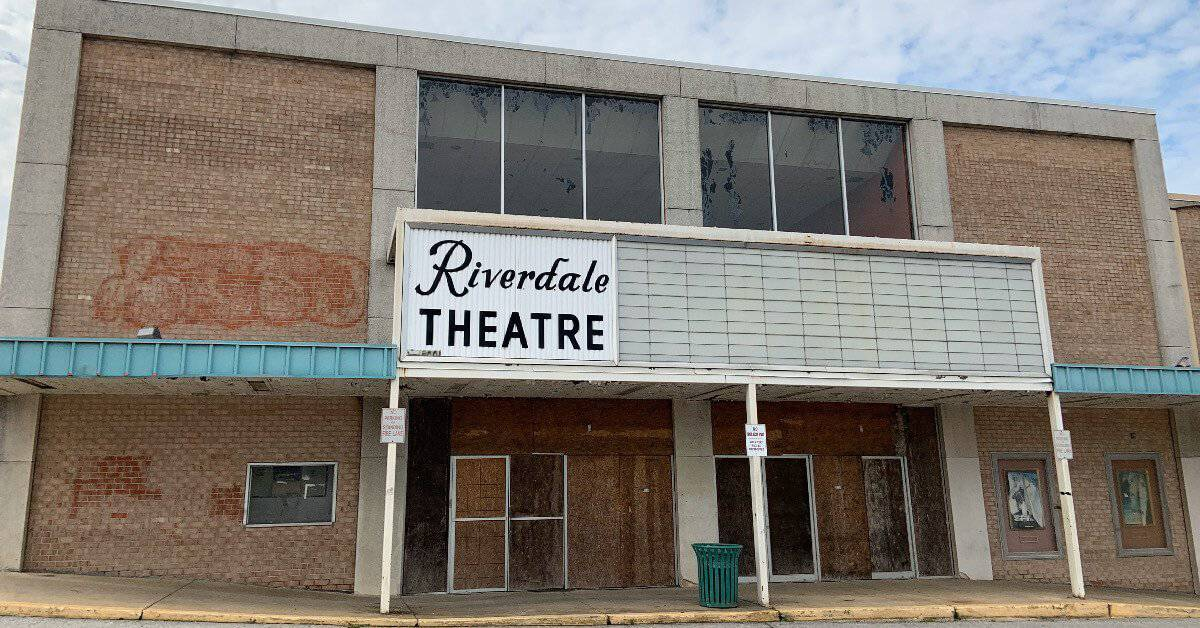 99-cent Theatre in Riverdale, now closed