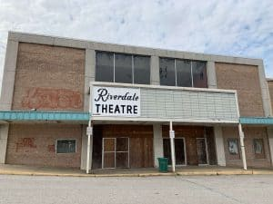 Riverdale Theatre, now closed