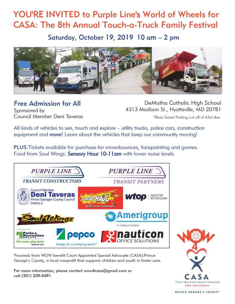 Touch-a-Truck happening this Saturday!
