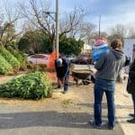 Christmas Tree Shopping at Berwyn Heights Fire Department