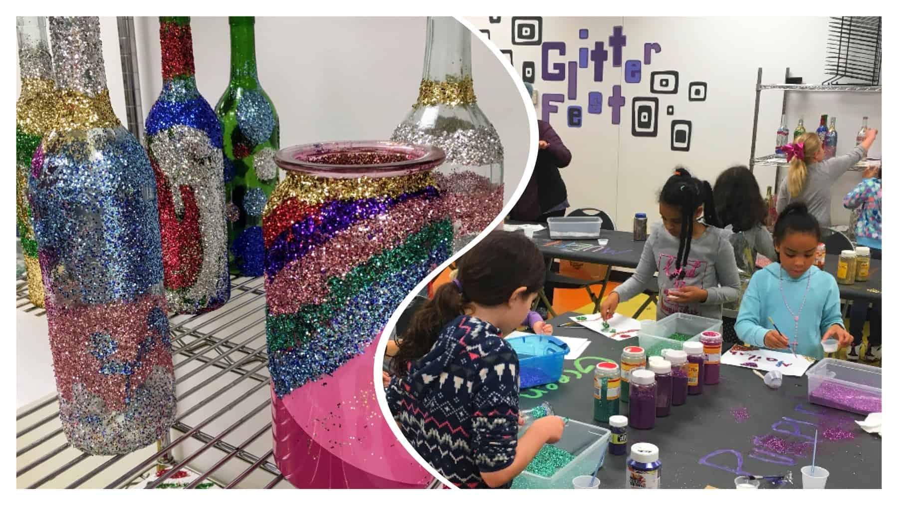 Glitterfest fun at Brentwood Arts Exchange