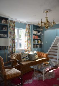 Colorful Federal Colonial, part of Cheverly Home Tour